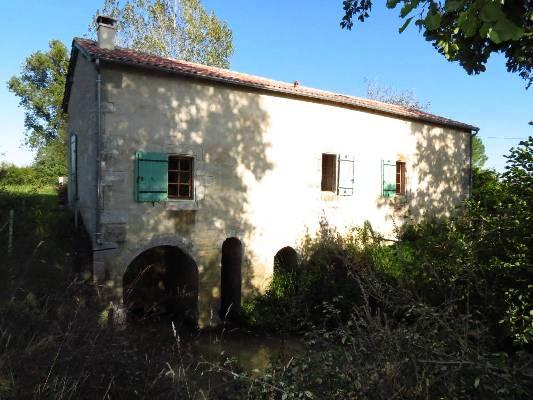 Frankrijk ~ Aquitaine ~ 47 - Lot-et-Garonne - Watermolen