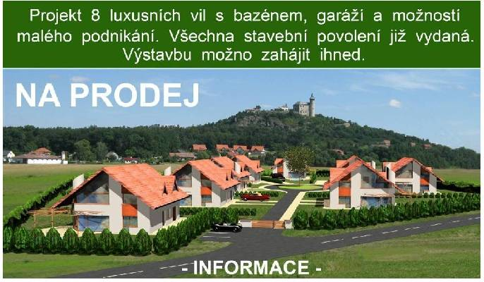 Tsjechië ~ Oost Bohemen - Bouwgrond