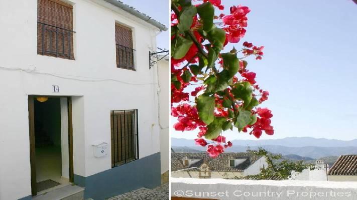Spanje ~ Andalusi� ~ M�laga ~ Binnenland - Stadswoning