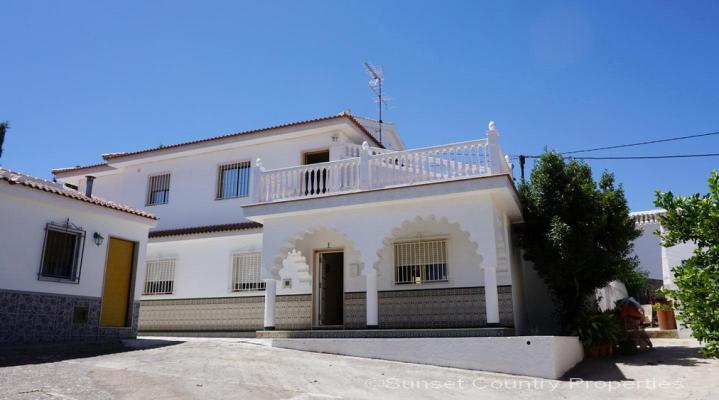 Spanje ~ Andalusië ~ Granada ~ Binnenland - Woonhuis
