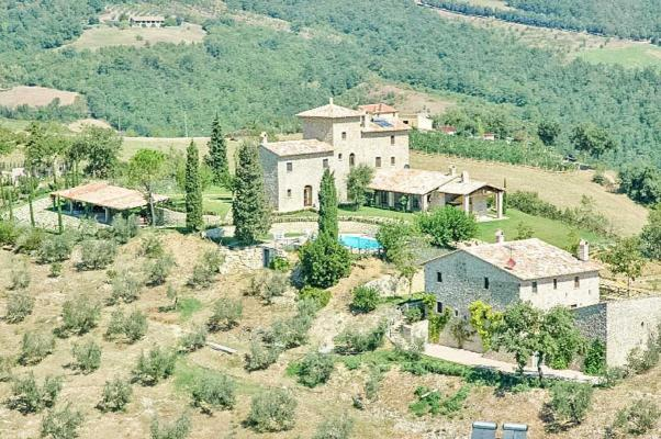 Italië ~ Umbrië - Kasteel