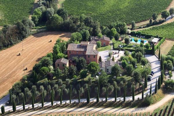Italië ~ Toscane - Kasteel