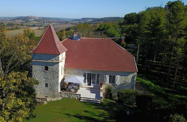 Frankrijk ~ Midi-Pyrénées ~ 82 - Tarn-et-Garonne - Landhuis