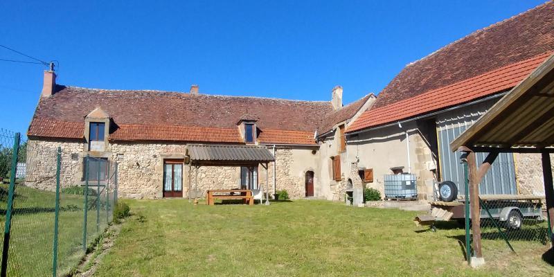 Frankrijk ~ Auvergne ~ 03 - Allier - (Woon)boerderij
