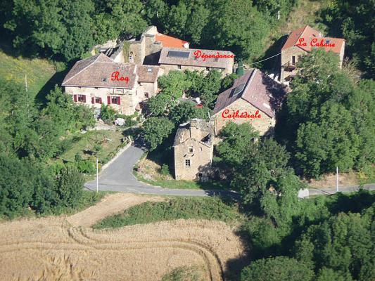 Frankrijk ~ Midi-Pyrénées ~ 12 - Aveyron - Maison de Campagne