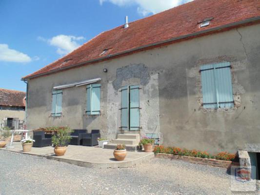 Frankrijk ~ Auvergne ~ 03 - Allier - Maison de Campagne