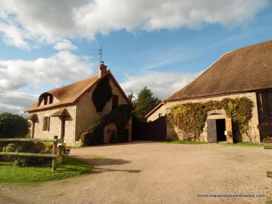 Frankrijk ~ Auvergne ~ 03 - Allier - Landhuis