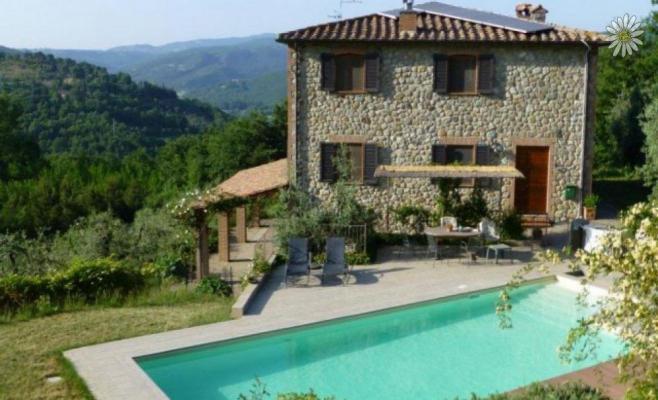 Italië ~ Umbrië - (Woon)boerderij