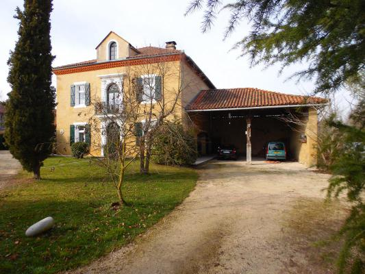 Frankrijk ~ Midi-Pyrénées ~ 31 - Haute-Garonne - Maison en pierre