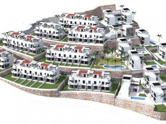 Spanje ~ Valencia (Regio) ~ Alicante (prov.) ~ Binnenland - Duplex woning