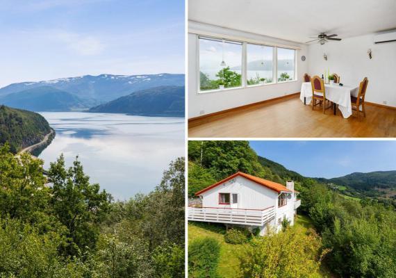 Noorwegen ~ Vestlandet (WEST) ~ Sogn og Fjordane - Landhuis