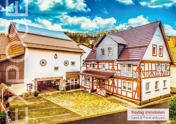 Duitsland ~ Hessen ~ Hessisches Bergland - Horeca-object