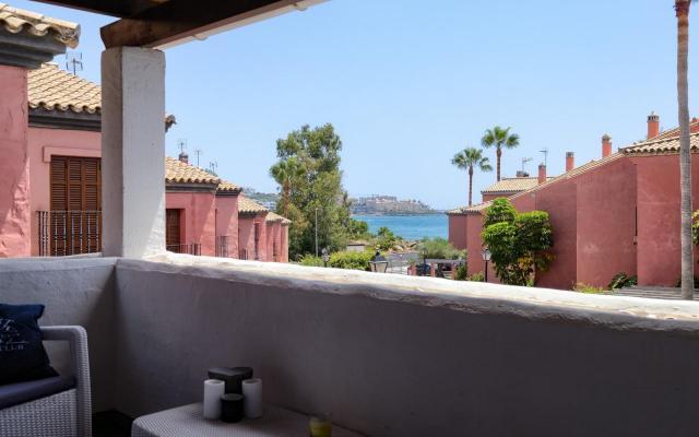 Spanje ~ Andalusi� ~ M�laga ~ Costa del Sol ~ Kust - Hoekwoning