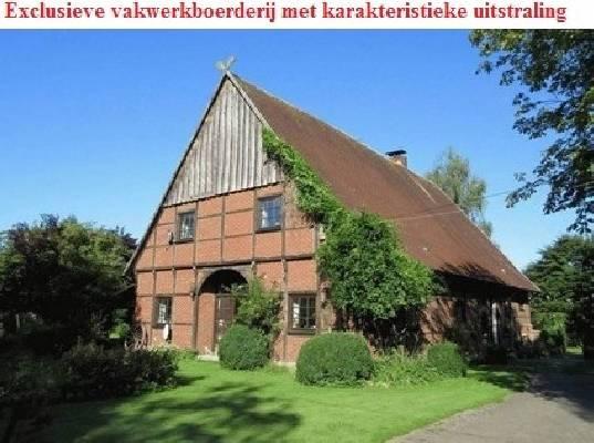 Duitsland ~ Nordrhein-Westfalen ~ M�nsterland - (Woon)boerderij