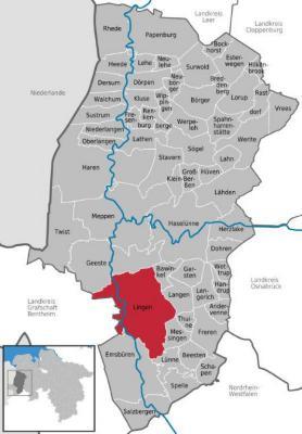 Duitsland-Nedersachsen-Emsland-Lingen