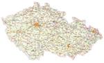 Landenvergelijk: Italië - Tsjechië- Kaart Tsjechië