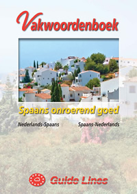 Vakwoordenboek Spaans onroerend goed