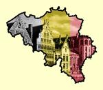 Landenvergelijk: Duitsland - België- Kaart België